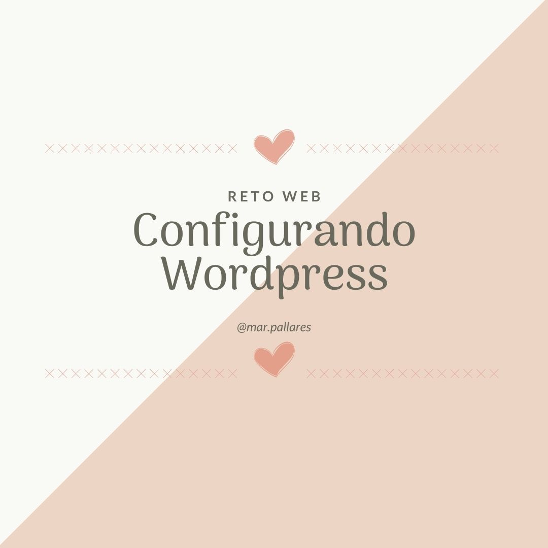 Configuracion Wordpress
