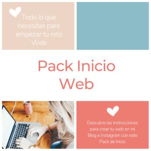 Pack inicio web, crea tu propia web mar pallares