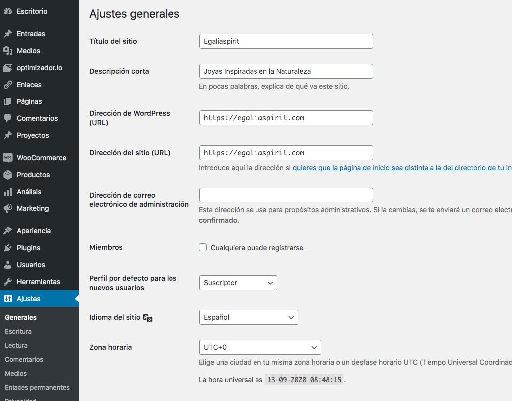 Configuración Básica de WordPress con Mar Pallares