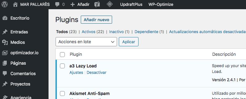 como instalar plugins