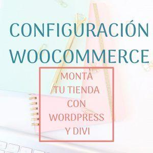 configuración woocommerce