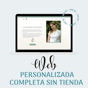 Web Personalizada Completa sin tienda creada por Mar Pallares, recursos para creativas